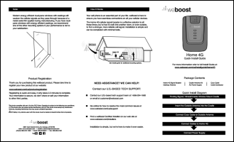 Download the weBoost 470101 Home 4G install guide (PDF)