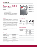Download the weBoost 471104 Connect 4G-X spec sheet (PDF)