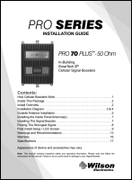 Download the WilsonPro 463127 Pro 70 PLUS install guide (PDF)