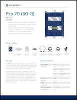 Download the Wilson Pro 70 spec sheet (PDF)