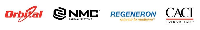 Orbital, NMC Railway Systems, Regeneron, CACI